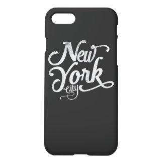 Tipografía de New York City Funda Para iPhone 7