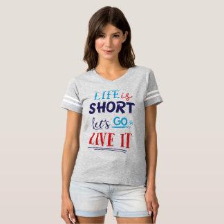 Tipografía diseñada para usted camiseta