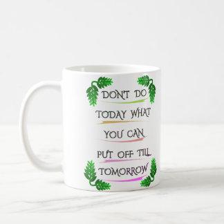 Tipografía divertida de la frase el | taza de café