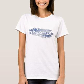 Tipografía para mujer de Soulconcepts Camiseta