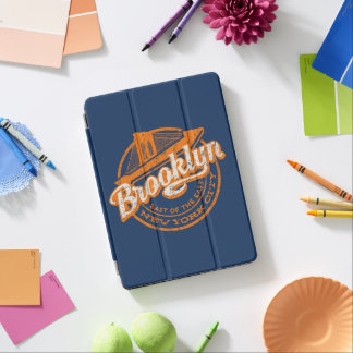 Tipografía retra del vintage de Brooklyn, Nueva Cover De iPad Air