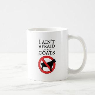 Tipos de la cabra taza de café