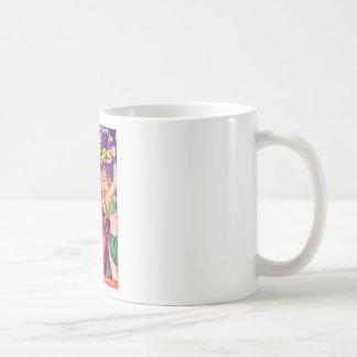 Tipos del espacio taza de café
