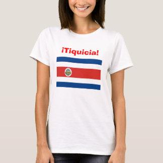 tiquicia, costa_rica_flag, tico, tica, Costa Rica Camiseta