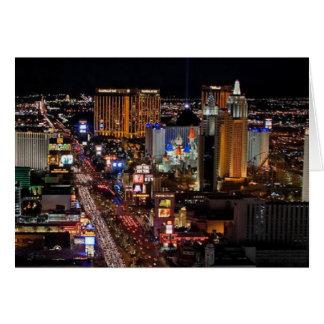 Tira de Las Vegas para la tarjeta de muchas
