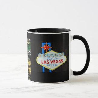 Tira de Las Vegas y recuerdo de la muestra Taza