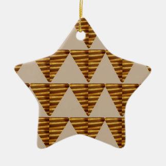 TIRAS DE ORO del triángulo: de arte del VINTAGE Ornamentos De Reyes