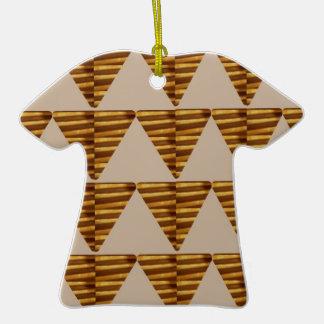 TIRAS DE ORO del triángulo: de arte del VINTAGE Ornamentos Para Reyes Magos