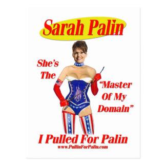 Tiré para Palin - amo de mi postal del ámbito