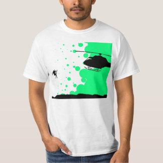Tiro de Heli Camiseta