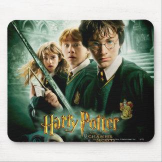 Tiro del grupo del Dobby de Harry Potter Ron Hermi Alfombrilla De Ratón