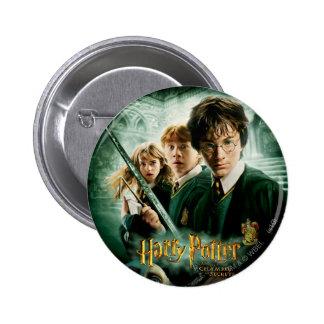 Tiro del grupo del Dobby de Harry Potter Ron Hermi Chapa Redonda De 5 Cm