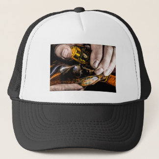 Tiro del whisky gorra de camionero