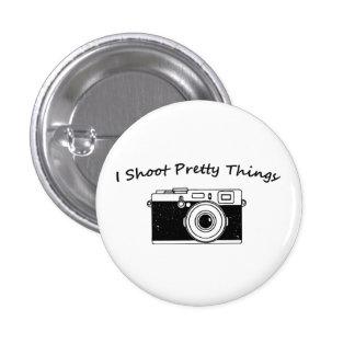 Tiro fotografía bonita de las cosas chapa redonda de 2,5 cm