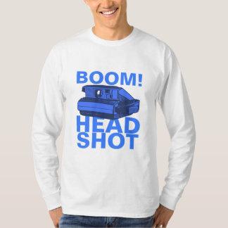 Tiro principal del auge camisetas