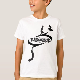 Tirón abstracto de Parkour Camiseta
