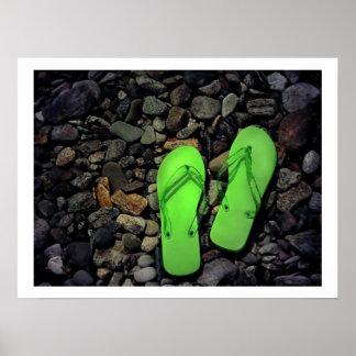 Tirones del verde posters