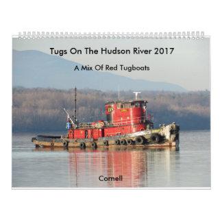 Tirones en el río Hudson 2017 Calendario