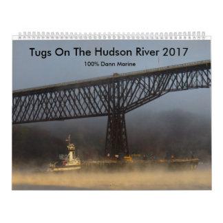 Tirones en el río Hudson 2017 Calendarios
