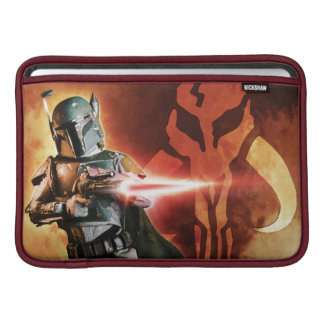 Tiroteo de Boba Fett Fundas Para Macbook Air