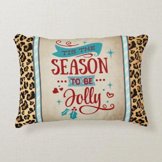 Tis la almohada del acento del navidad de la