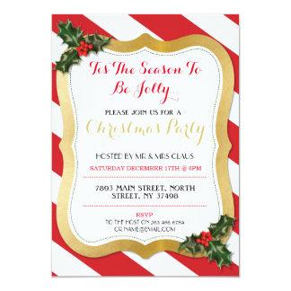 Tis la invitación de la fiesta de Navidad del