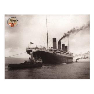 Titanic asociación Suiza tarjeta postal 01