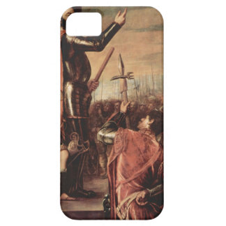 Titian- Marchese del Vasto Addressing sus tropas iPhone 5 Case-Mate Protector