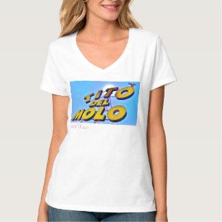 Tito Del Molo, cuello en v T Camisetas