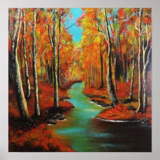 Título: Artista del río del abedul: Barbie Baughma Poster