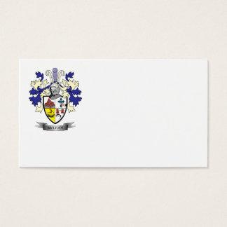 TÍTULO del escudo de armas del escudo de la Tarjeta De Negocios
