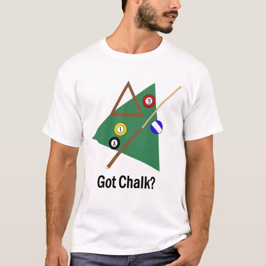 ¿Tiza conseguida? Camiseta