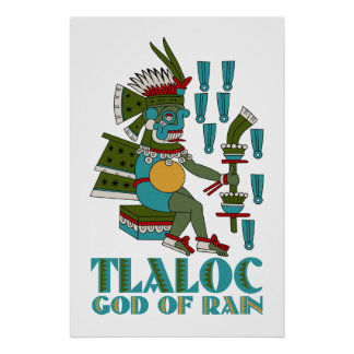 Tlaloc Póster