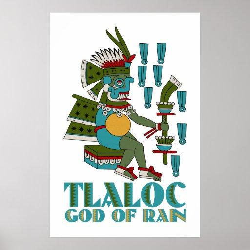 Tlaloc Poster