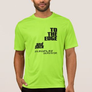 To The Edge y parte posterior - superviviente del Camiseta