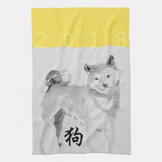 Toalla china 3 del zodiaco K del símbolo del Año