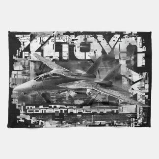 """Toalla de cocina de F-14 Tomcat 16"""" x 24"""" toallas"""