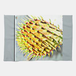 Toalla de cocina del cactus de la paleta del higo