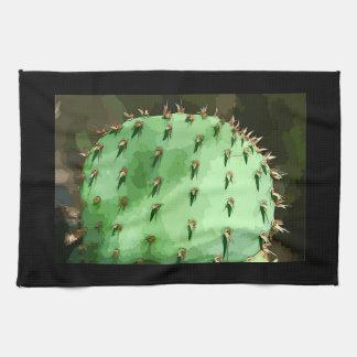 Toalla de cocina del cactus del higo chumbo