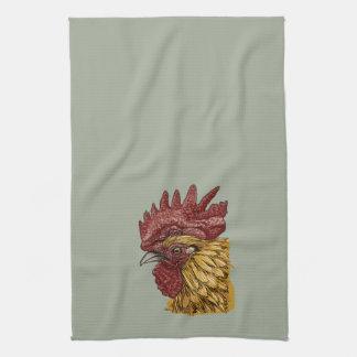 Toalla de cocina del gallo