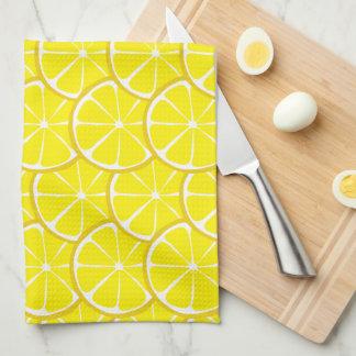 Toalla de cocina del limón de la fruta cítrica del