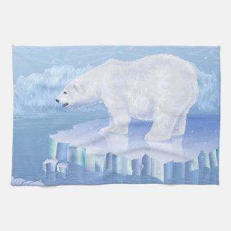 Toalla de cocina del oso polar