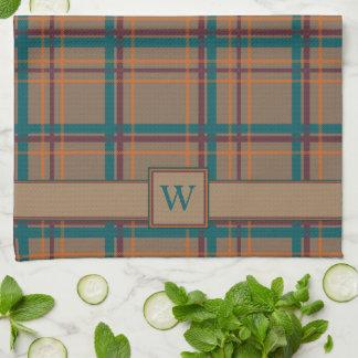 Toalla de cocina elegante de la tela escocesa del