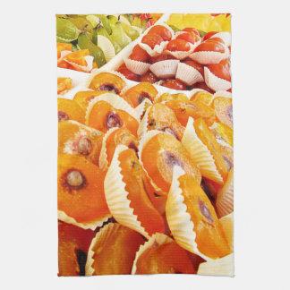 Toalla de cocina francesa del mercado de los