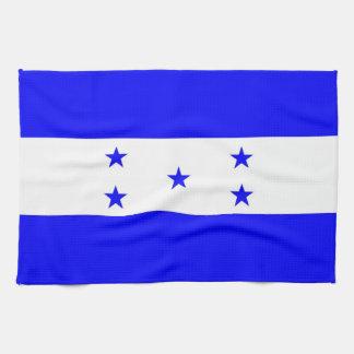 toalla de la bandera de país de Honduras