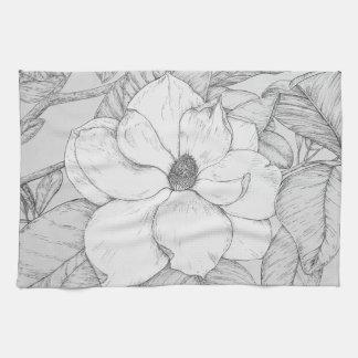 Toalla de la magnolia
