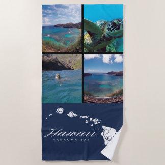 Toalla De Playa Bahía de Hanauma de las islas de Hawaii