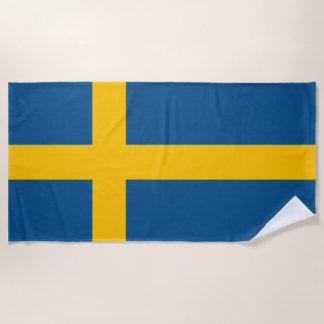 Toalla De Playa Bandera de Suecia
