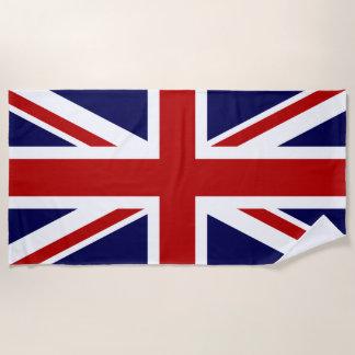 Toalla De Playa Bandera de Union Jack de Gran Bretaña