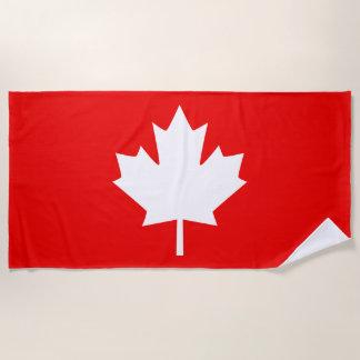 Toalla De Playa Canadá estableció 1867 150 años de diseño del